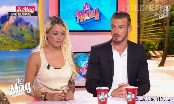 Aurélie Dotremont et Julien Bert ne cachent plus leur idylle.