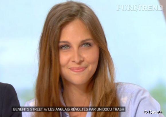 """Ophélie Meunier a fait sa rentrée lundi dans """"La Nouvelle Edition"""", sur Canal+."""