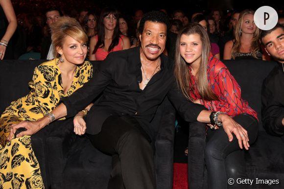 Nicole Richie, Lionel Richie et la petite dernière, Sofia Richie.