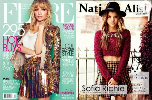 Nicole Richie/Sofia Richie