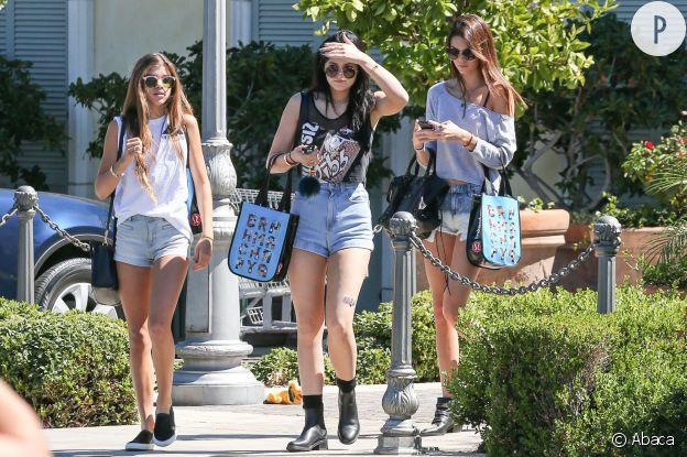 Sofia Richie, Kylie et Kendall Jenner.