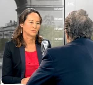 Ségolène Royal en interview avec Jean-Jacques Bourdin ce jeudi 4 septembre 2014 au matin sur RMC et BFMTV.