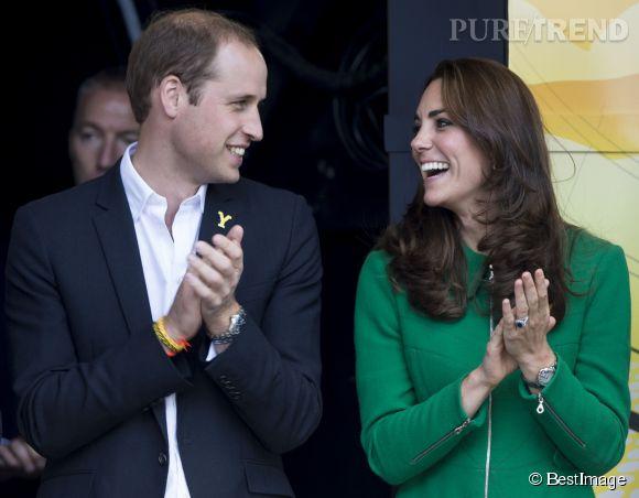 Kate Middleton et le prince William, bientôt parents d'un deuxième bébé.