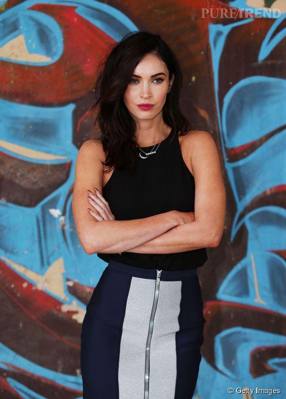 """Megan Fox fait la promotion de """"Ninja Turtles"""" à Sydney."""