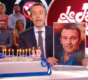 """Yann Barthès spoile un épisode de """" Plus belle la vie"""" dans """"Le Petit Journal"""" de ce mardi 9 septembre 2014 sur Canal+."""