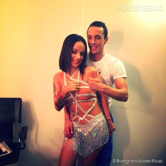 """Alizée et Grégoire Lyonnet se sont rencontrés sur la saison 4 de """"Danse avec les stars"""". Elle devrait donc le retrouver sur la tournée en décembre prochain."""