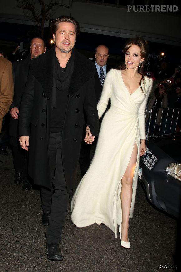 Angelina Jolie et Brad Pitt ont signé un contrat de mariage en bé-ton !