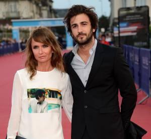 """Axelle Laffont et Cyril Paglino assistent à la première de """"The November Man"""" le 11 septembre 2014."""