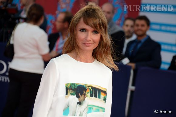 """Axelle Laffont lors de la première de """"The November Man"""" durant le Festival du Cinéma Américain de Deauville le 11 septembre 2014."""