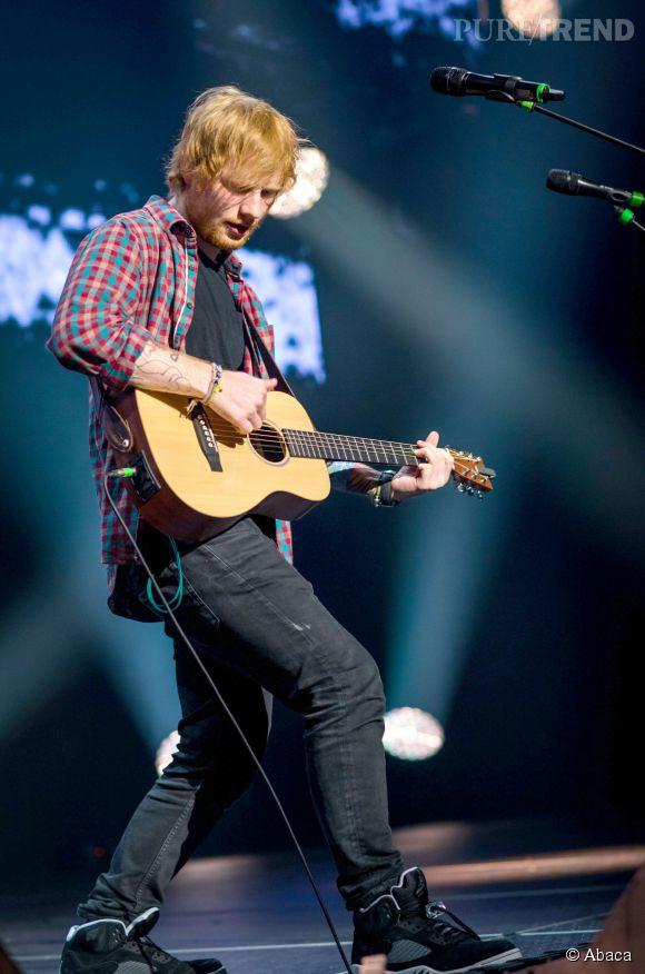 Ed Sheeran en lice pour le prix du Meilleur artiste masculin cette année aux MTV EMA.