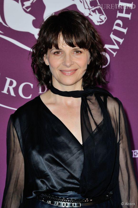 Juliette Binoche est la marraine du 93ème Prix de l'Arc de Triomphe qui se déroulera à Longchamp le 5 octobre prochain.