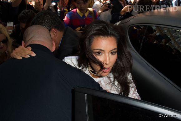 Kim Kardashian a vu sa vie défiler devant ses yeux. Enfin, on imagine.