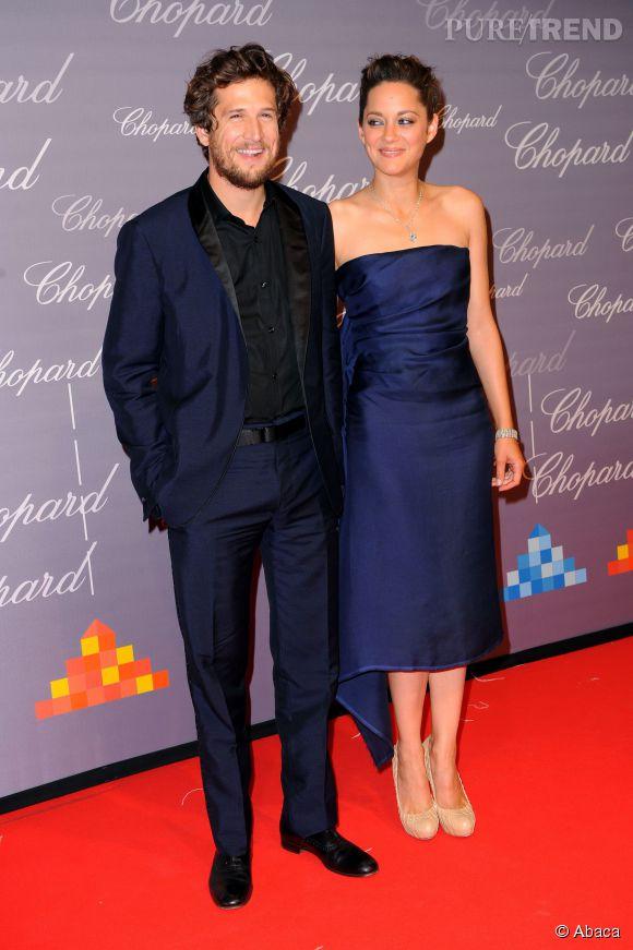 Marion Cotillard et Guillaume Canet, des parents comblés.
