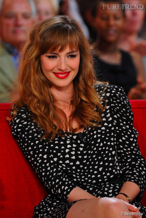 "Louise Bourgoin, l'ex-Miss Météo du ""Grand Journal"" de Canal+."