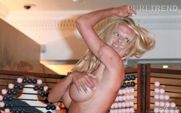 Pamela Anderson n'est pas vraiment du genre pudique.