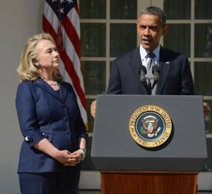 Secrétaire d'État de 2009 à 2013, Hillary Clinton s'impose par son port de tête et son style de femme de pouvoir tendance mais professionnelle. Une belle progression.