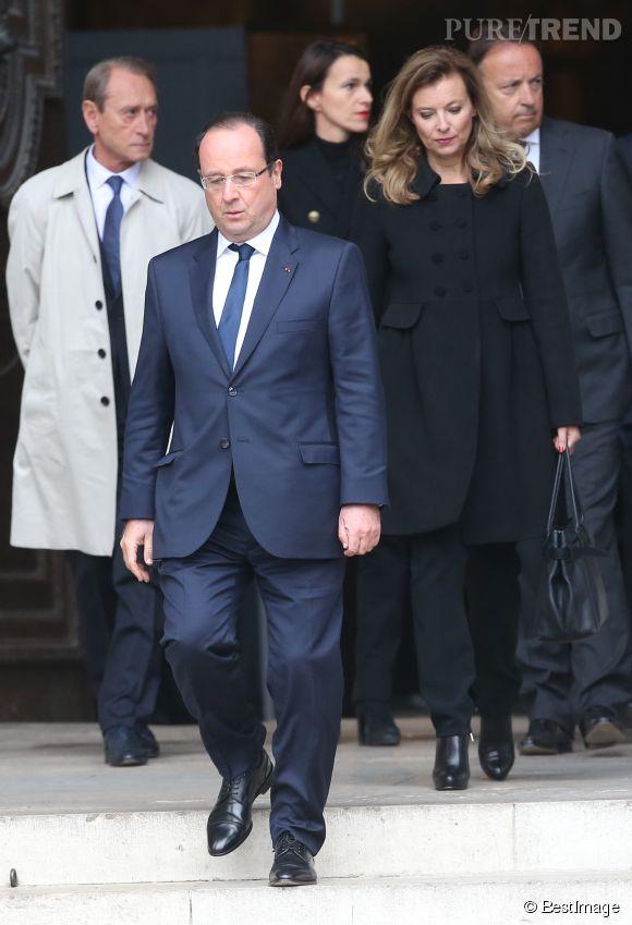 Le livre de Valérie Trierweiler, François Hollande ne l'avait pas vu venir et en a été particulièrement affecté.