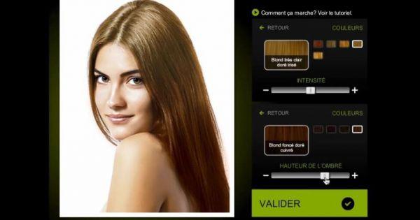 cheveux tester une nouvelle couleur avec l 39 appli inoa l 39 or al professionnel. Black Bedroom Furniture Sets. Home Design Ideas