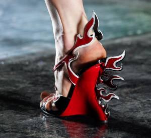 Chaussure Prada du défilé Printemps-Été 2012.