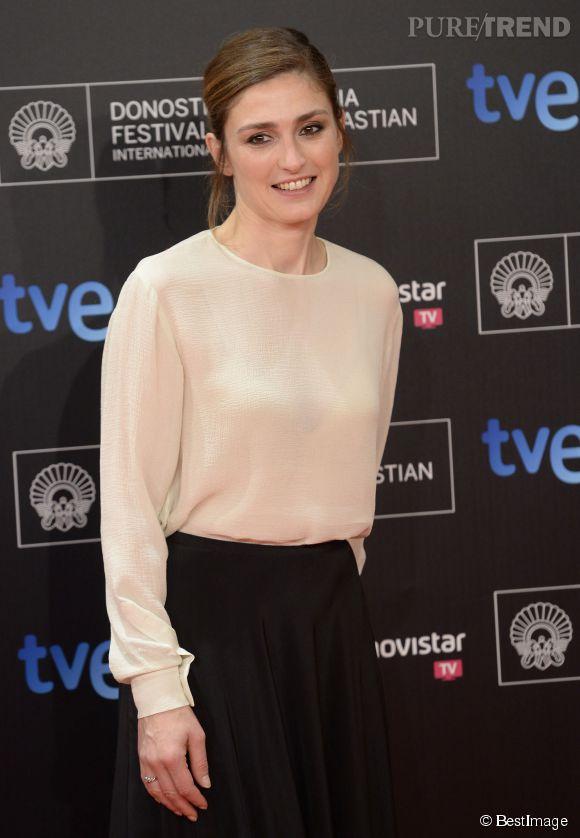 """Julie Gayet a campé le personnage d'une tueuse dans une série """"Profilage"""" sur  TF1."""