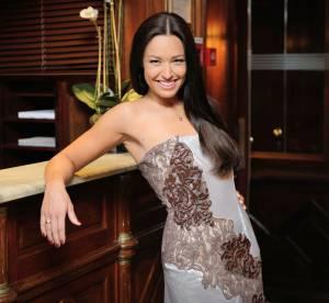 Natasha St-Pier : transformation glamour dans une robe 100% cacao