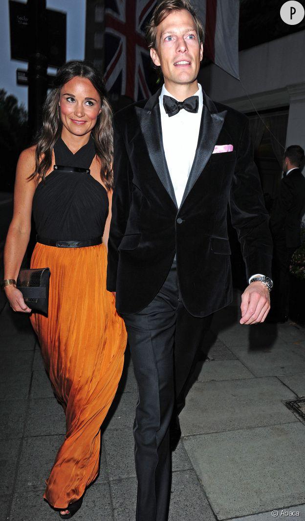 Pippa Middleton et Nico Jackson, décidement très glamour pour cette sortie au Boodles Boxing Ball.