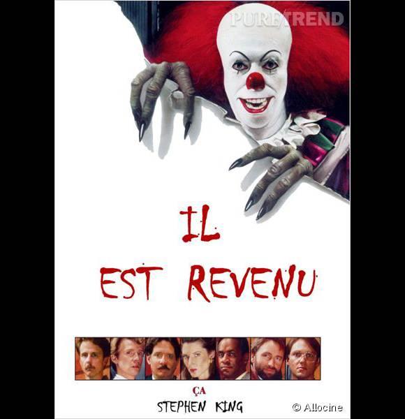 Ça, le clown le plus effrayant du monde.