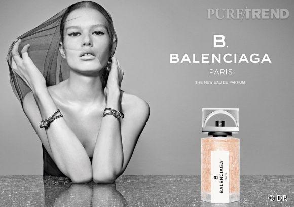 B. BALENCIAGA, la nouvelle fragance de la maison de mode, la première sur laquelle ait jamais travaillé Alexander Wang.