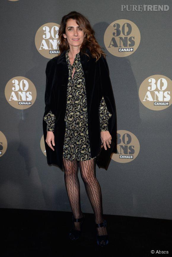 Mademoiselle Agnès, originale comme toujours, à la soirée des 30 ans de  Canal+  au Palais de Tokyo à Paris le 4 novembre 2014.