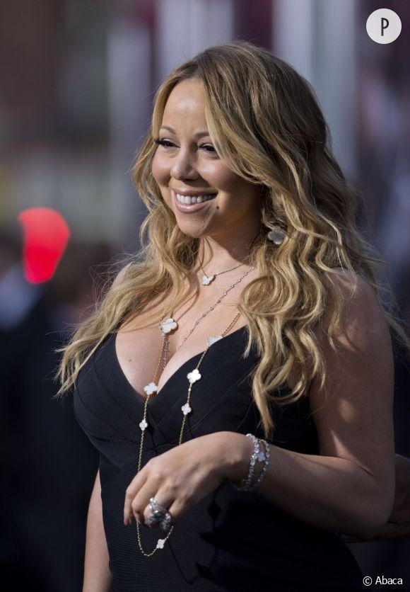 Mariah Carey a le sourire : elle a un nouvel amour dans sa vie. Il s'appelle Edmond et il est très poilu.