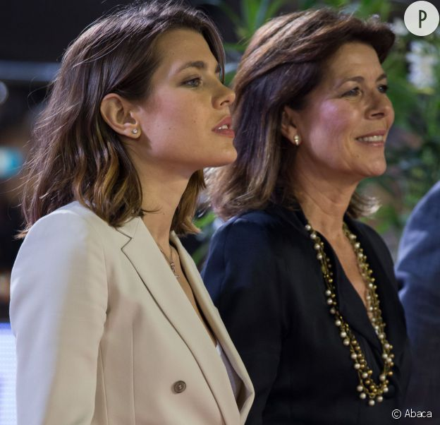 Charlotte Casiraghi et sa mère Caroline de Monaco.