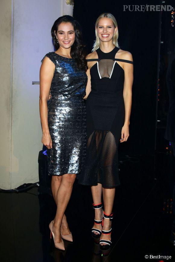 Karolina Kurkova et Emma Heming, l'épouse de Bruce Willis.