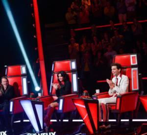 """TF1 a publié la toute première photo de l'aventure """"The Voice 4"""" avec de tous nouveaux fauteuils et une nouvelle coach !"""