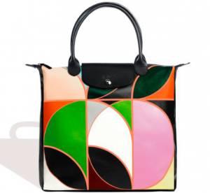 """Longchamp x Sarah Morris célèbrent les 20 ans du sac """"Pliage"""""""