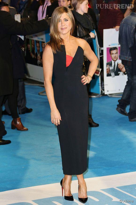 Jennifer Aniston, une femme fatale à Londres.