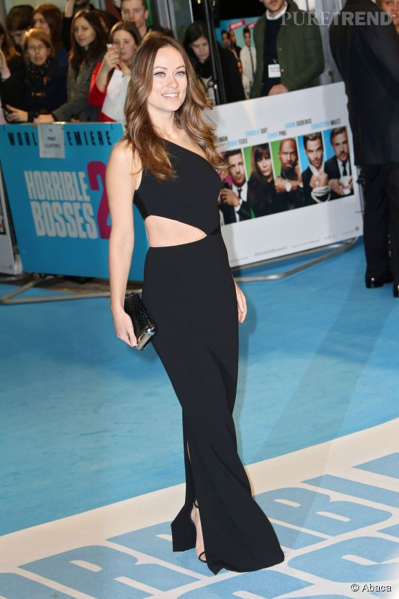 Olivia Wilde, renversante dans une robe Michael Kors.