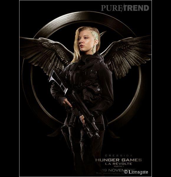"""""""Hunger Games - La révolte, partie 1"""" : Natalie Dormer débarque."""