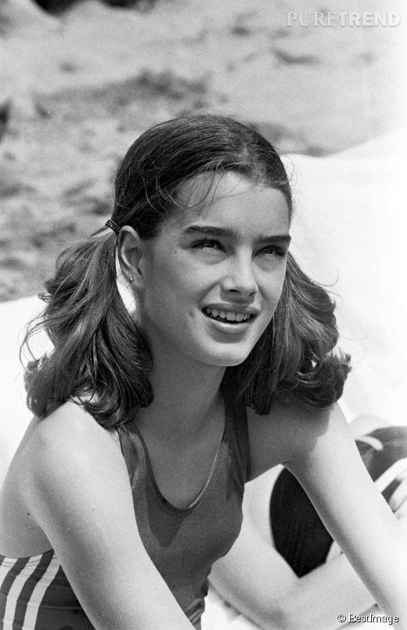 Brooke Shields en 1978 :  à 13 ans, impossible de ne pas voir tout le potentiel glamour de la baby star.
