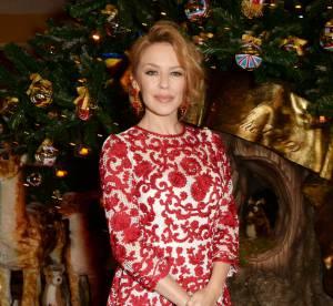Kylie Minogue petit chaperon sexy du Noël de Dolce & Gabbana