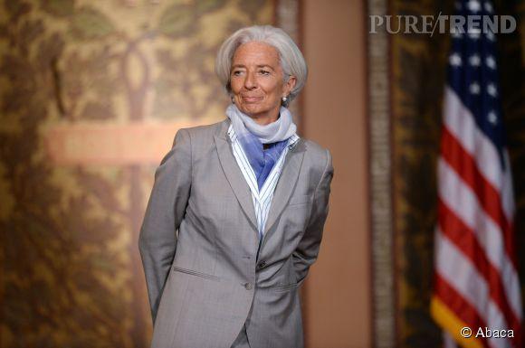 """Christine Lagarde est première du classement des """"50 Français les plus influents du monde"""" de Vanity Fair France."""