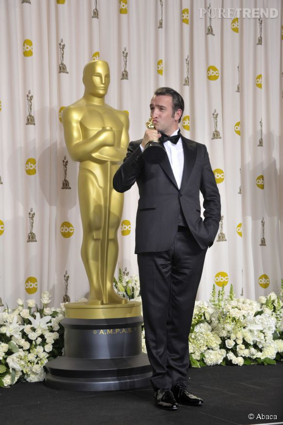 Jean Dujardin aux Oscars 2013.