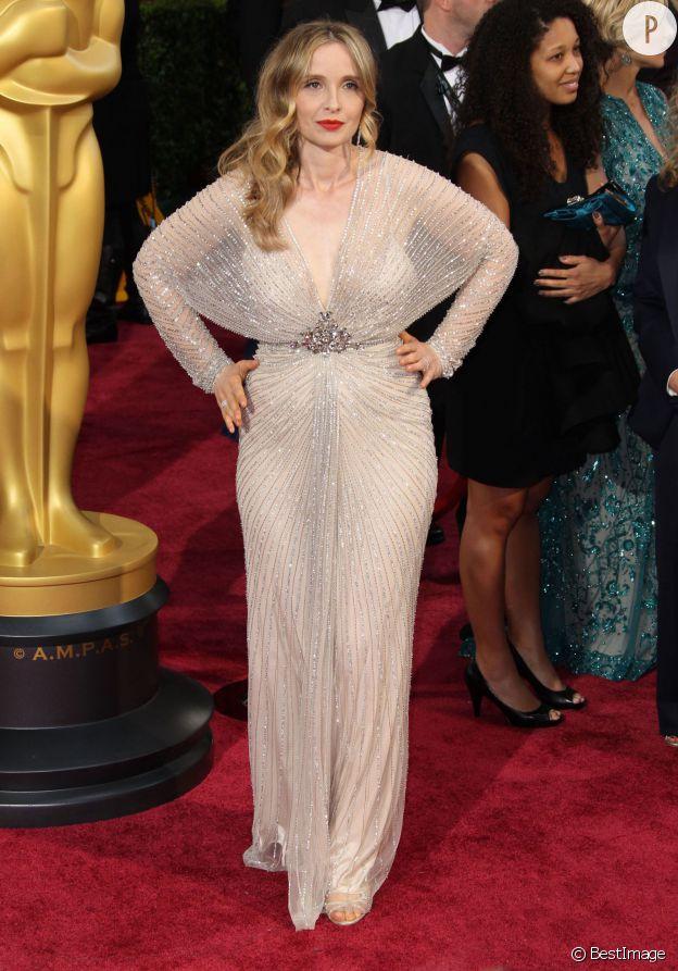 Julie Delpy aux Oscars 2014.