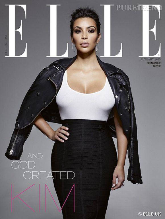 Kim Kardashian, ses confidences touchantes sur ses envies d'être maman à nouveau et sur l'acceptation de soi à ELLE UK.
