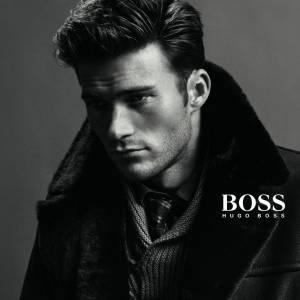 Scott Eastwood, nouveau visage BOSS pour la collection automne-hiver 2014/2015.