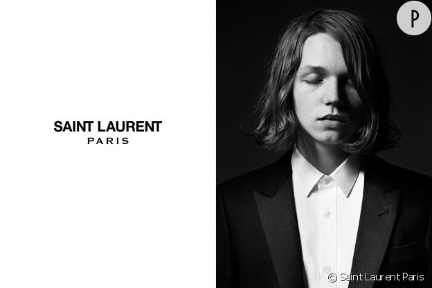 Jack Kilmer, le nouvel homme Saint Laurent Paris.