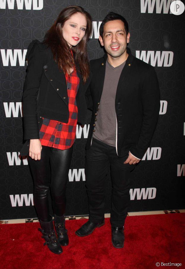 Coco Rocha et son époux, l'artiste James Edward Conran seront parents au printemps 2015 !