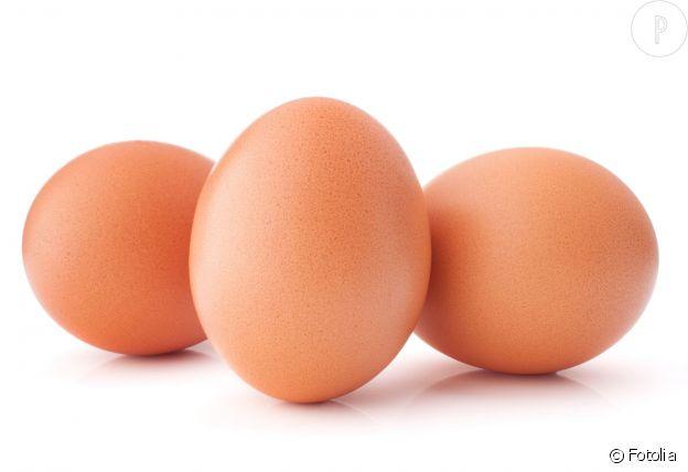 Comme tous les aliments à haute teneur en protéines, les oeufs aident à développer la masse musculaire.
