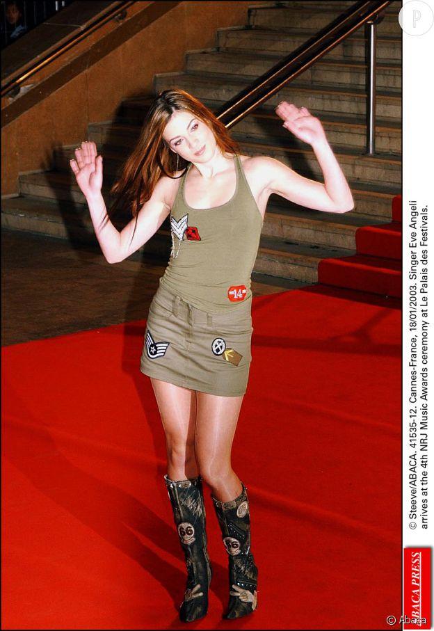 Eve Angeli NRJ Music Awards 2003