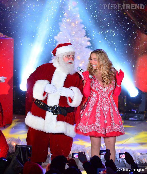 Mariah Carey, ambassadrice numéro 1 de Noël, surtout version sexy.
