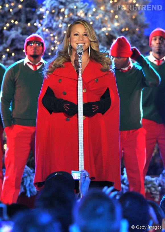Mariah Carey calme le jeu pendant sa grossesse.